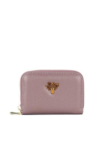 HAPPY FRIDAYS Zipper Organ Leather Wallet JN515 CAB05AC6993D2CGS_1