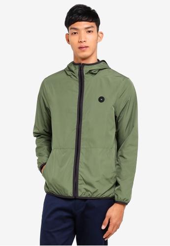 ESPRIT 綠色 Outdoor Woven Regular Jacket 95DF8AAF96470EGS_1