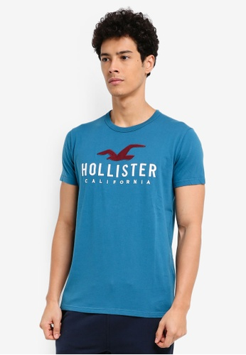 Hollister blue Iconic DTC T-Shirt 15652AA13A24BBGS_1