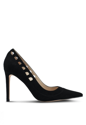 ZALORA black Cut Out Heels C050BSHADC5588GS_1