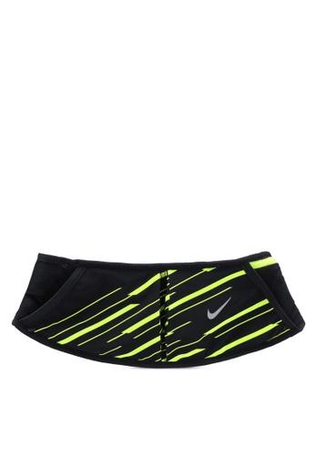 Nike black Nike Double Pocket Flask Belt 20oz 207B2AC0871AE9GS_1