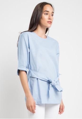 Bodytalk blue Konsinyasi Canavi Shirt 784D9AAF546DBDGS_1