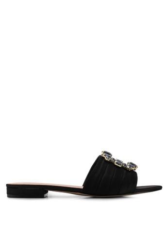 ALDO black Zilinia Flat Sandals DF5A0SH58B9625GS_1