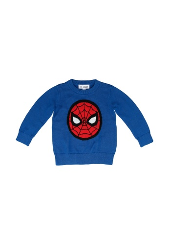 GAP blue V-Mvl Ie Sweater F115AKAA5E835FGS_1