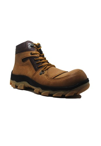 Cut Engineer brown Cut Engineer Best Safety Boots Iron Apple Soft Brown CU226SH45ALAID_1
