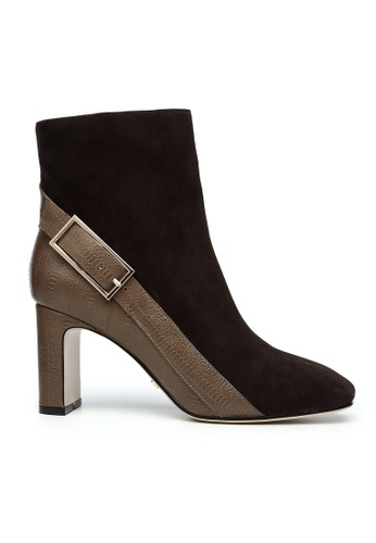 Byford brown Arundel Suede Boots 3D387SH396FABAGS_1