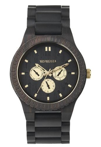 WEWOOD black Kappa Black Ro Watch 46mm 991A2AC801CD24GS_1