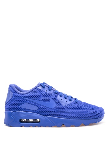 Nike blue Men's Nike Air Max '90 Ultra BR Shoes NI126SH66IJDPH_1