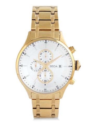 ZECA gold Zeca Watches Couple Ladies Fashion - 3006L Gold ZE074AC0UL2EID_1