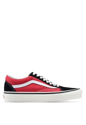 d2f8088983 VANS black and red Old Skool 36 DX Anaheim Factory Sneakers  9F1FASH813A12CGS 1