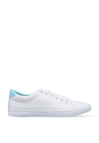 Keddo 白色 and 綠色 Josephine Sneakers A70B9SH1B86C72GS_1