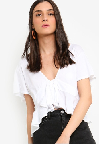 c663a0b310d1 Shop Free People Knot Me Tee Online on ZALORA Philippines