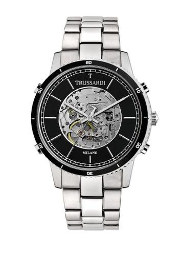 Trussardi silver Trussardi T-Style Silver Automatic Men's Watches R2423117002 E2E77AC119F435GS_1