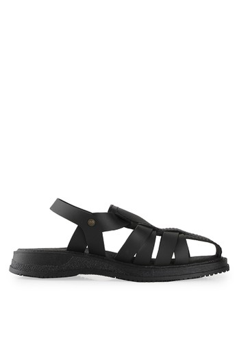 Watchout! Shoes black Flats Sandals WA021SH06JORID_1