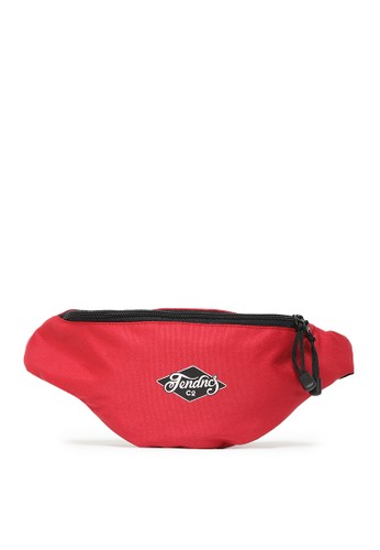 Tendencies red RED TENDENCIES WAIST BAG C8726ACD499B18GS_1