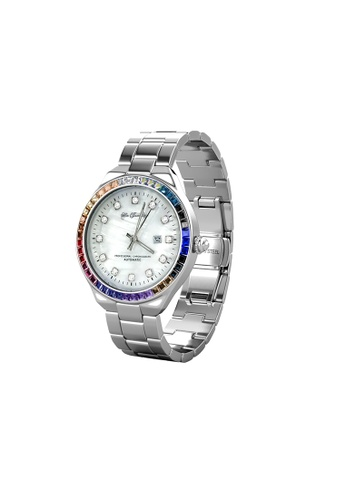 Her Jewellery white Her Jewellery Rainbow Shell Dial Watch - B (White Gold) embellished with Crystals from Swarovski BAA1BAC8F607C8GS_1