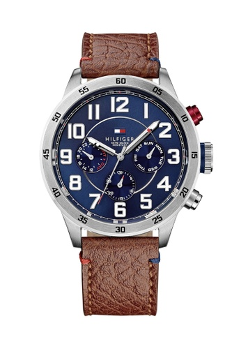 Tommy Hilfiger blue Tommy Hilfiger Navy Men's Watch (1791066) AB46BAC4CFCFD2GS_1