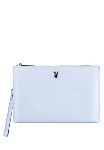 PLAYBOY BUNNY blue Playboy Bunny Clutch Bag 156F2AC9AF5812GS_1
