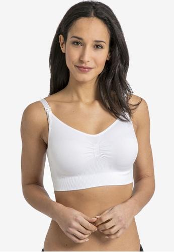 JoJo Maman Bébé white Seamless Maternity & Nursing Bra 239D7US31C2193GS_1