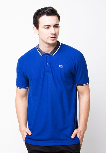 Endorse Polo Shirt E Eloggo St Royal Blue END-PE006