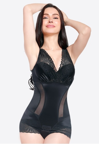 Lady Grace black Body Suit 60DF9USF43A347GS_1