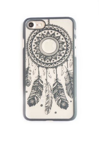 Fancy Cellphone Cases black Dream Catcher Hard Transparent Case for iPhone 7 FA644AC88CIHPH_1