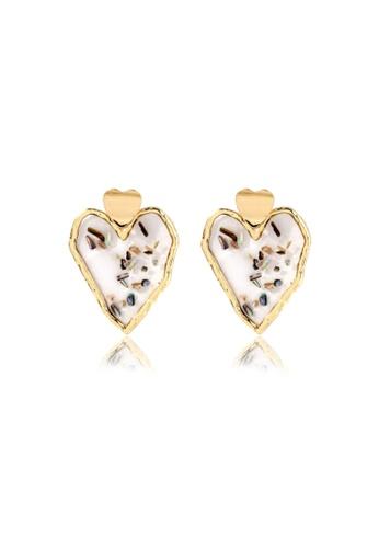 Kings Collection gold Shell Alloy earrings (KJEA20072) 980E2AC9C5A056GS_1