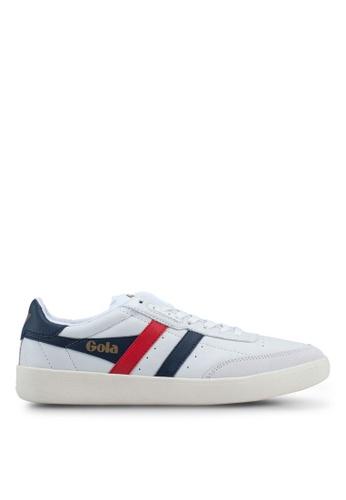 Gola white and multi Inca Leather Sneakers 0C25ESHE022696GS_1