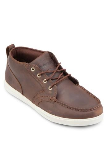 Fulk LP 幾esprit台灣outlet眼繫帶皮革踝靴, 鞋, 鞋
