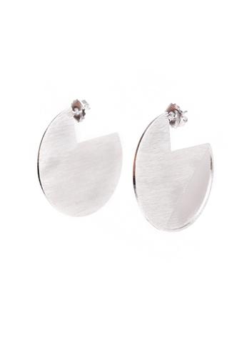 Gung Jewellery gold Mono Pac Earrings in Silver 47050ACEB6D2C8GS_1