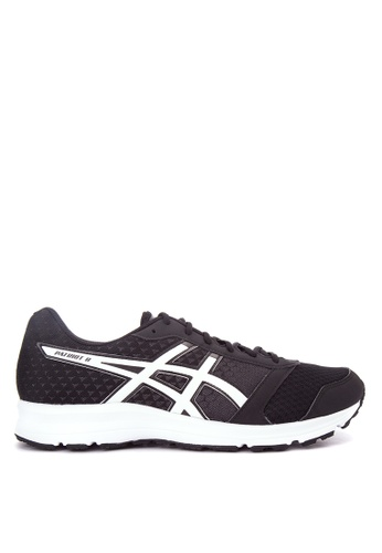 Asics black and white Patriot 8 Running Shoes AS445SH0IOCMPH_1