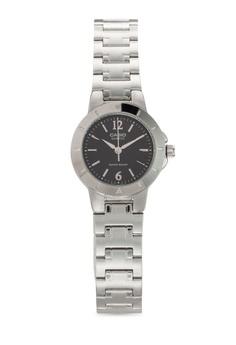 LTP-1177A-1ADF 圓框金屬鍊錶