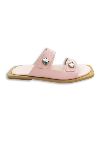 Yoke & Theam pink Geta Slider B982FSH1456950GS_1