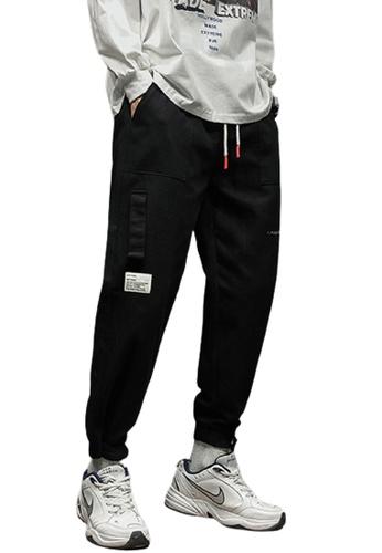 Trendyshop black Skinny Jogger Pants 74904AAFBB21A2GS_1