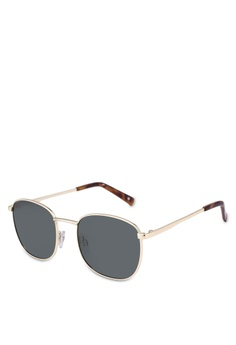 328349b3136 Le Specs gold Neptune Sunglasses 91092GLBE1A321GS 1