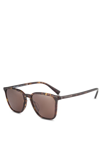 Dolce & Gabbana brown Dolce & Gabbana DG4301F Sunglasses DO384GL0RNI6MY_1