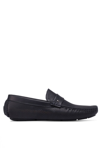 Bata blue Slide-On Loafers 58CB3SHED634C7GS_1