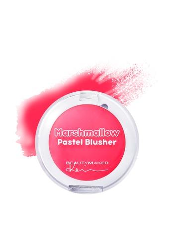 BEAUTYMAKER Marshmallow Pastel Blusher - Cherry BE114BE0FJTTSG_1