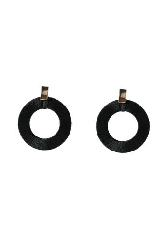 ALDO black Yoeclya Earrings DC365AC4711B17GS_1