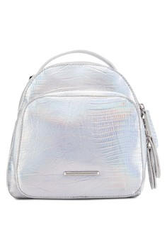 Chrome Metal Backpack
