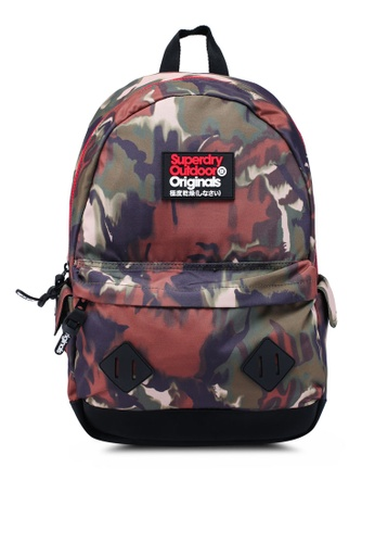 1cef29f1ba1e6 Superdry multi Camo Blur Montana Backpack 48DE7AC5DC3856GS 1