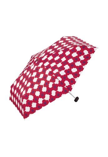WPC red WPC Camellia Mini Umbrella (Red) 70236ACC0DB874GS_1