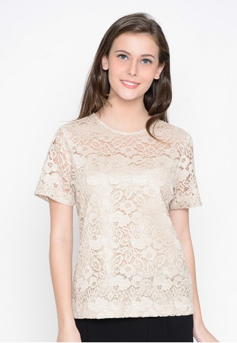 A & D brown A&D ladies Blouse Ms 1007 - Brown AD532AA0W1ATID_1