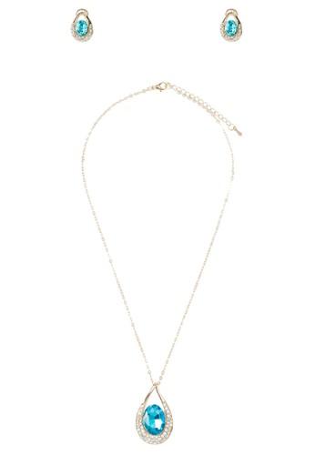 閃esprit門市鑽寶石首飾組合, 飾品配件, 簡約優雅風格