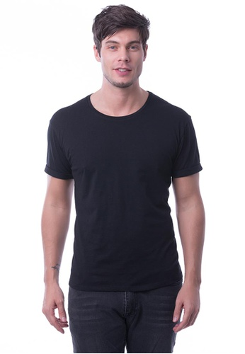 9809141df5b8 RIGHTWAY black RIGHTWAY Premium Round Neck 89E54AA8AC8EB4GS_1. CLICK TO ZOOM