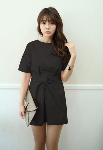 Shopsfashion black Calla Shirt Dress in Black SH656AA45UJYSG_1