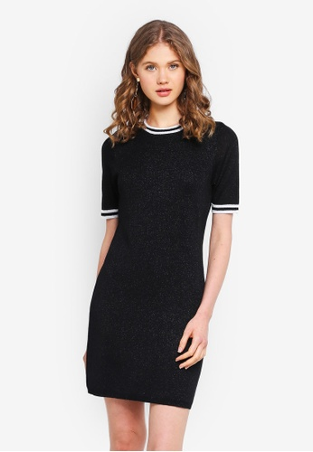 ONLY black Galaxy Knit Dress 46734AA8909724GS_1