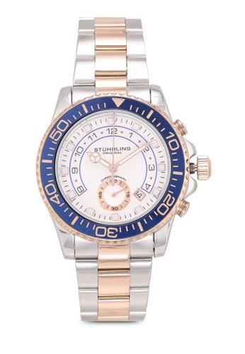 Stuhrling Original silver Brigadier 3966 Watch 0FF7FAC30DFE7EGS_1