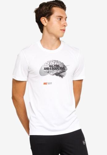 Nike white As M Nk Df Lgd Humor Tee C1654AA4429A75GS_1