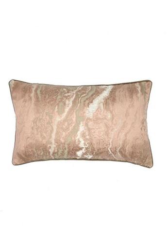 Maison Curio pink Biacan Long Cushion Rouge 15C93HL4FA8777GS_1